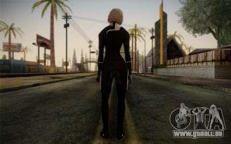 Karin Chakwas from Mass Effect für GTA San Andreas zweiten Screenshot