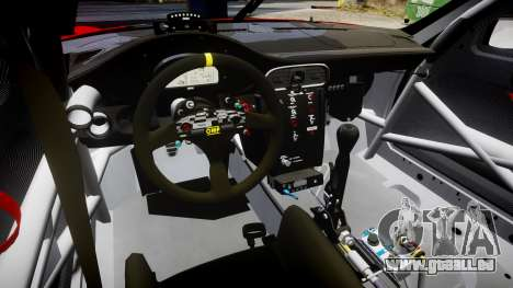 Porsche 911 Super GT 2013 pour GTA 4 est une vue de l'intérieur