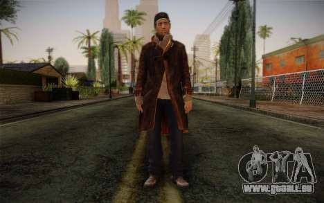 Aiden Pearce from Watch Dogs v12 für GTA San Andreas