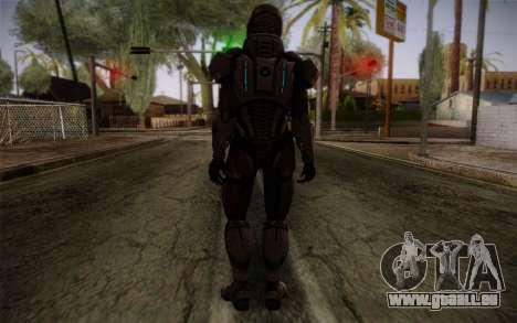 Shepard Default N7 from Mass Effect 3 pour GTA San Andreas deuxième écran