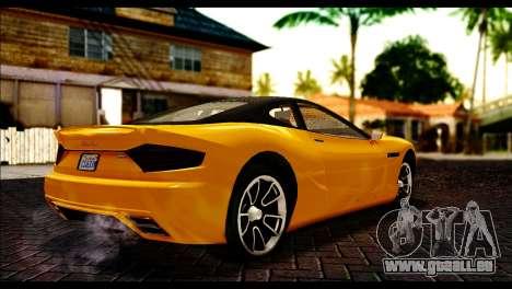 GTA 5 Hijak Khamelion pour GTA San Andreas sur la vue arrière gauche