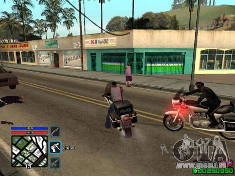 C-HUD by SampHack v.4 für GTA San Andreas dritten Screenshot