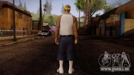 Fresno Buldogs 14 Skin 3 pour GTA San Andreas deuxième écran