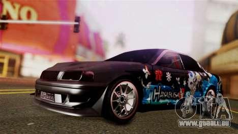 Toyota Chaser Hayabusa pour GTA San Andreas