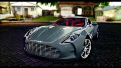 Aston Martin One-77 Red and Black
