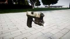 Pistolet HK USP 45 woodland