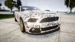 Ford Mustang Shelby GT500 2013 Sharpie für GTA 4