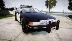 Chevrolet Caprice 1991 Highway Patrol [ELS] pour GTA 4
