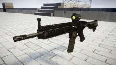 Machine HK416 AR cible
