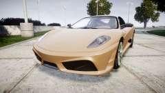 Ferrari F430 Scuderia 2007 plate F430 pour GTA 4