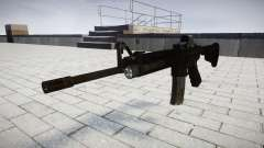 Tactique M4, fusil d'assaut Black Edition cible