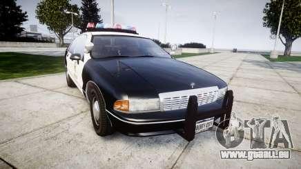 Chevrolet Caprice 1991 LAPD [ELS] Traffic pour GTA 4