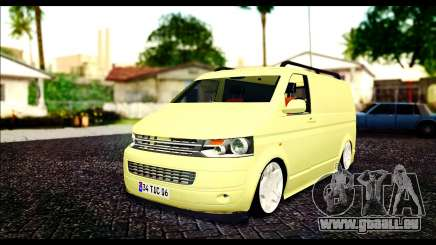 Volkswagen Transporter Panelvan für GTA San Andreas