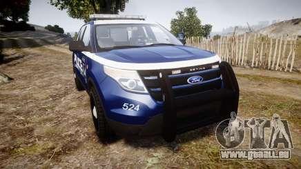 Ford Explorer 2013 LCPD [ELS] v1.0L pour GTA 4