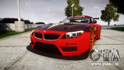 BMW Z4 GT3 2010 NEO ZEON pour GTA 4
