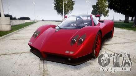 Pagani Zonda C12 S 7.3 2002 PJ2 pour GTA 4