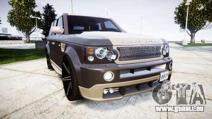 Range Rover Sport Kahn Tuning 2010 pour GTA 4