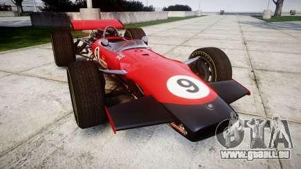 Lotus Type 49 1967 [RIV] PJ9-10 pour GTA 4