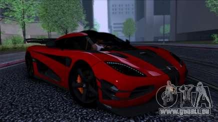 Koenigsegg One:1 2014 für GTA San Andreas