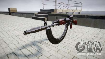 Автомат АК-47 Collimateur. Le museau et les HICAP targe pour GTA 4