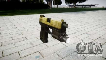 Pistole HK USP 45 olive für GTA 4