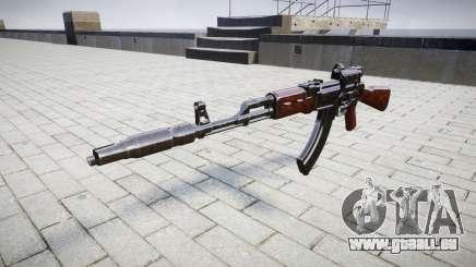 Автомат АК-47 Collimateur et frein de bouche cible pour GTA 4