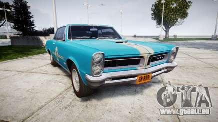 Pontiac GTO 1965 victory cars pour GTA 4