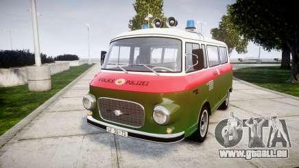 Barkas B1000 1961 Police pour GTA 4