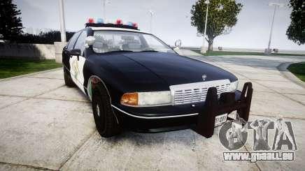 Chevrolet Caprice 1991 Highway Patrol [ELS] für GTA 4