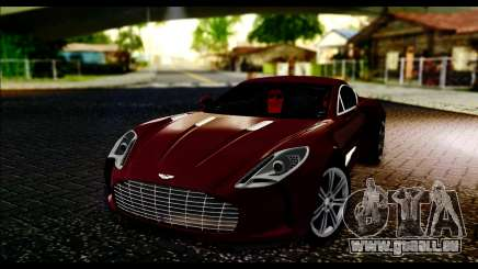 Aston Martin One-77 Black and Red für GTA San Andreas