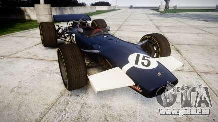 Lotus Type 49 1967 [RIV] PJ15-16 pour GTA 4
