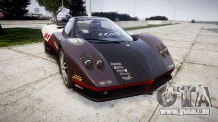 Pagani Zonda C12 S 7.3 2002 PJ3 pour GTA 4
