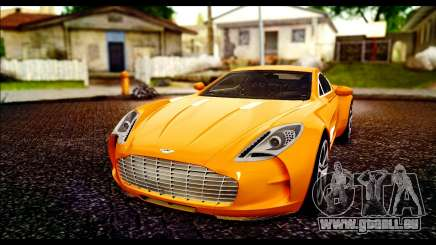 Aston Martin One-77 Black pour GTA San Andreas