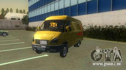 GAZelle 2705 Sammlung Von Alfa Bank für GTA San Andreas
