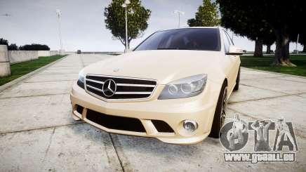 Mercedes-Benz C63 AMG 2010 für GTA 4