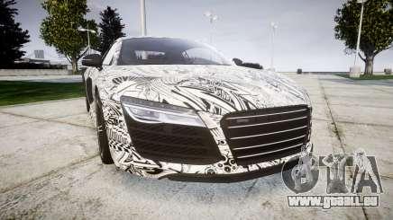 Audi R8 plus 2013 HRE rims Sharpie für GTA 4