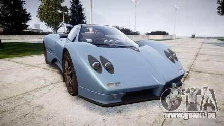 Pagani Zonda C12 S 7.3 2002 PJ1 für GTA 4