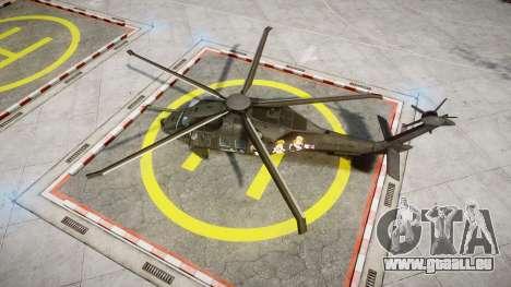 Sikorsky MH-X Silent Hawk [EPM] Printemps für GTA 4 rechte Ansicht