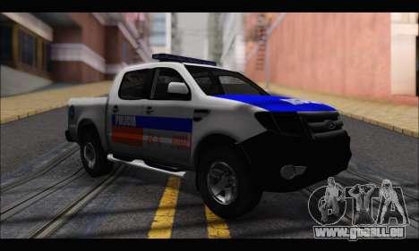 Ford Ranger P.B.A 2015 pour GTA San Andreas