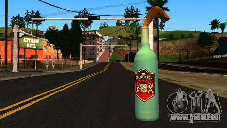 Molotov Cocktail from GTA 4 für GTA San Andreas zweiten Screenshot