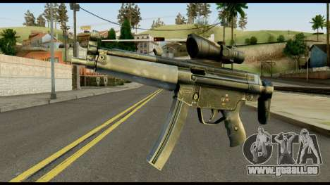 MP5 from Max Payne pour GTA San Andreas