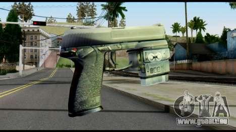 Socom from Metal Gear Solid pour GTA San Andreas deuxième écran