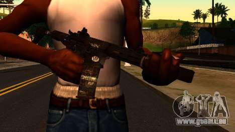 HoneyBadger from CoD Ghosts v2 für GTA San Andreas dritten Screenshot