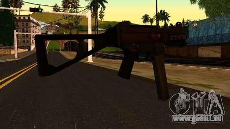 UMP45 from Battlefield 4 v1 pour GTA San Andreas deuxième écran