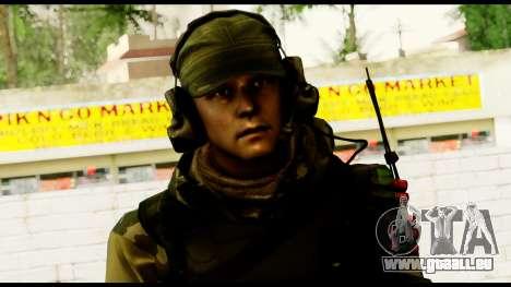 Engineer from Battlefield 4 für GTA San Andreas dritten Screenshot