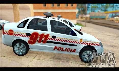 Chevrolet Corsa Premium Policia de Salta pour GTA San Andreas vue de droite