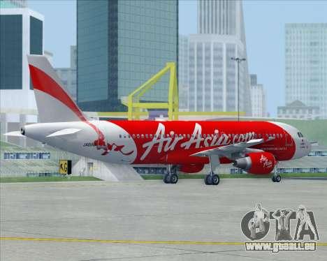 Airbus A320-200 Air Asia Japan für GTA San Andreas Innen