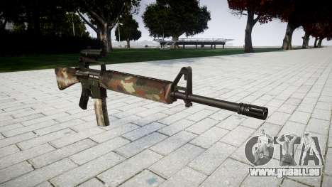 Die M16A2 Gewehr [optisch] berlin für GTA 4