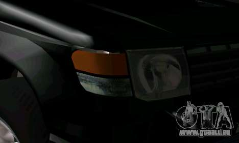 Mitsubishi Pajero Intercooler Turbo 2800 für GTA San Andreas