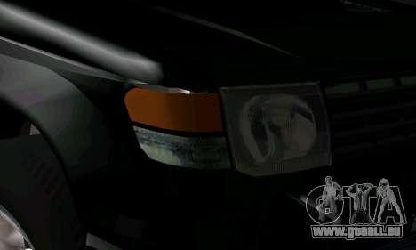 Mitsubishi Pajero Intercooler Turbo 2800 pour GTA San Andreas